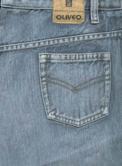 Gray Denim - Vintage Wash