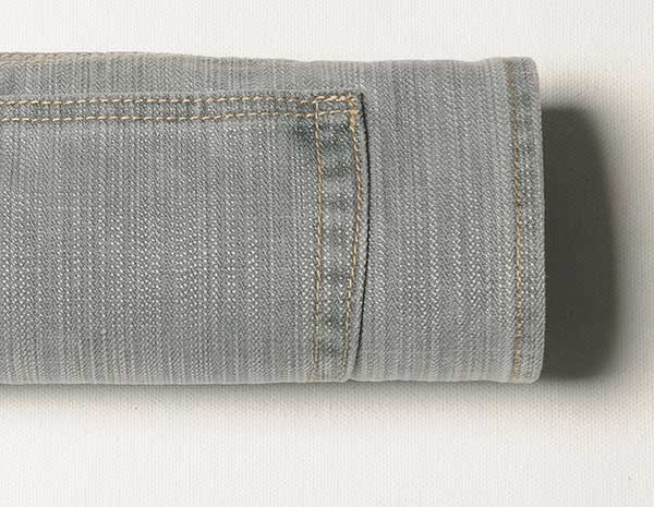 Hazy Gray Drill Jeans - Enzyme Wash