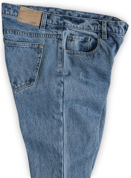Light Blue 14.5oz Heavy Denim Jeans