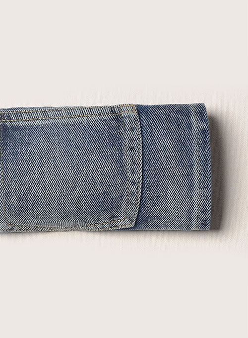 Heavy Hippo Blue - 15 oz - Vintage Wash