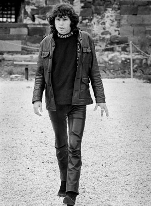 Jim Morrison Leather Pants #2 - Click Image to Close