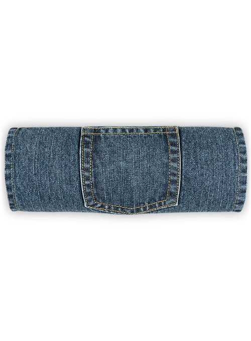 Cross Hatch Jeans - Blue - Blast Wash