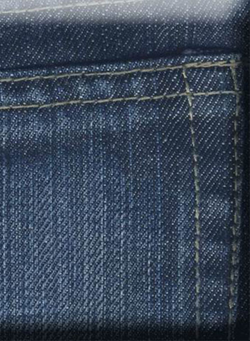 Cross Hatch Jeans - Blue - Scrape Washed