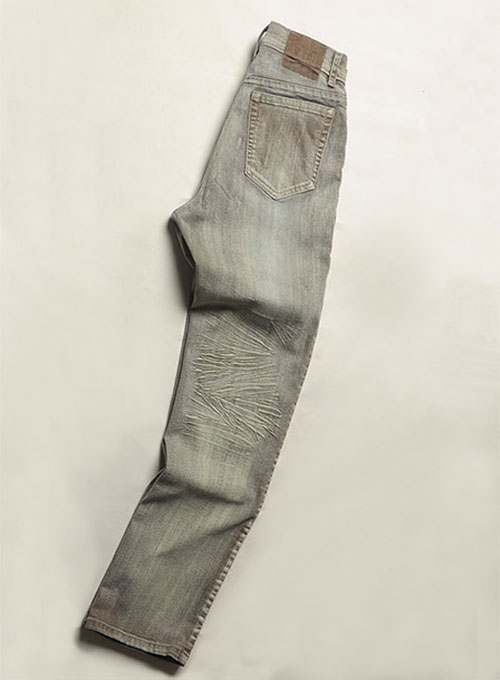 Killer Brown Stretch Jeans - Vintage Wash - Look #125