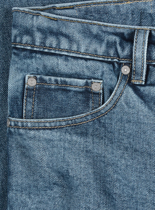 Kings Heavy Blue Jeans - Blast Wash