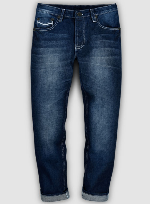 Kings Heavy Blue Treated Hard Wash jeans - Look # 101