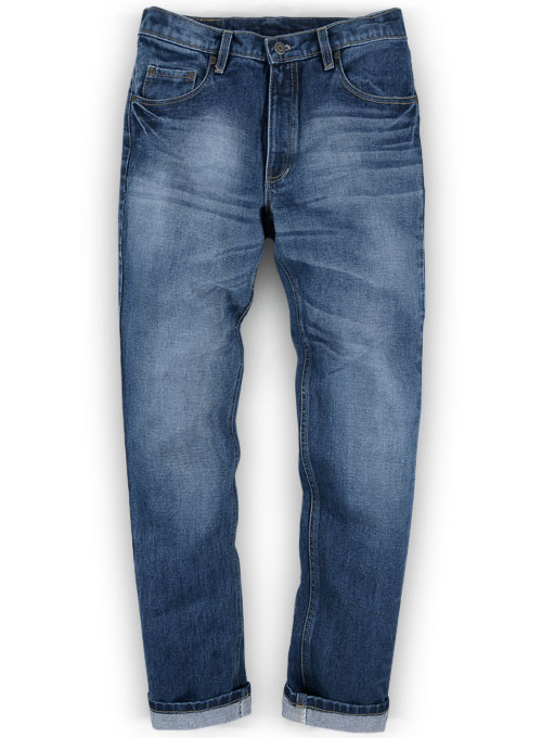 Kings Heavy Blue Jeans - Treated Hard Wash