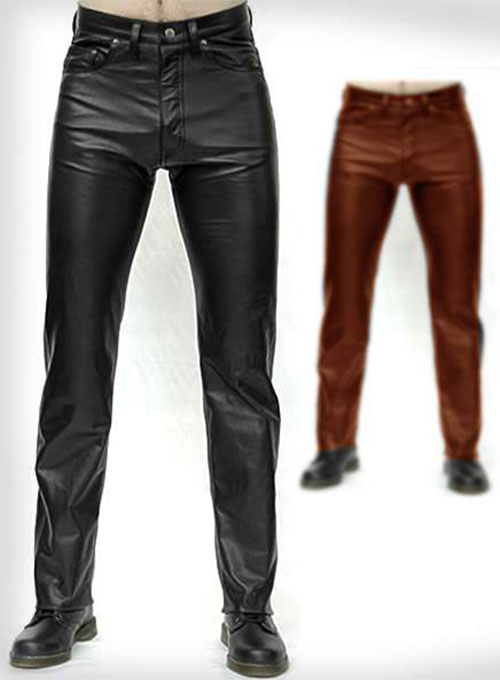 Leather Pants Jeans Style Leather Pants Leather Jeans