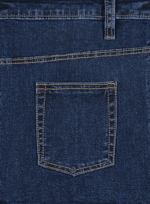 Leo Blue Denim-X Wash Stretch Jeans