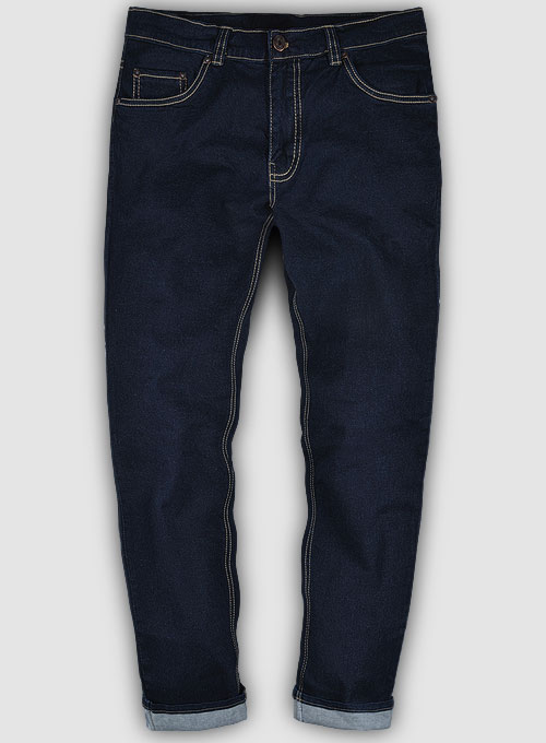 Leo Blue Hard Wash Stretch Jeans