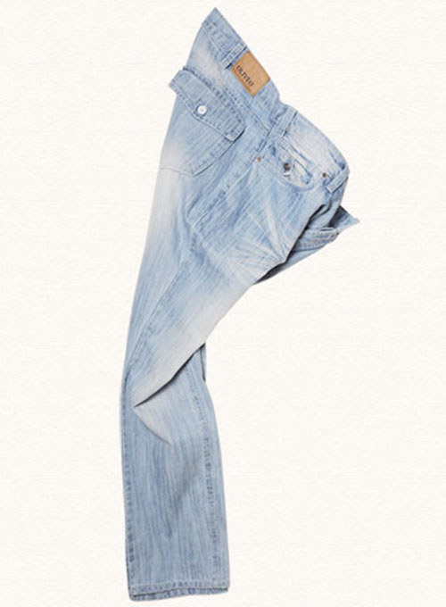True Blue Jeans - Light Blue Claw Wash - Look #121