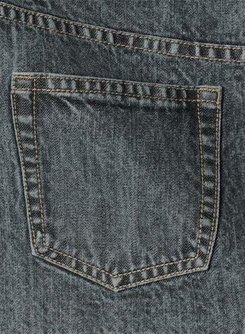 Machine Gun Denim Jeans - Blast Wash