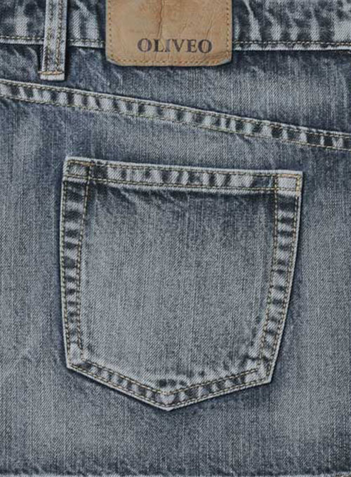 Machine Gun Denim Jeans - Vintage Wash