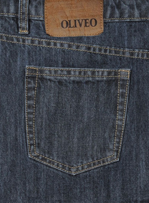 Machine Gun Denim Jeans - Denim-X