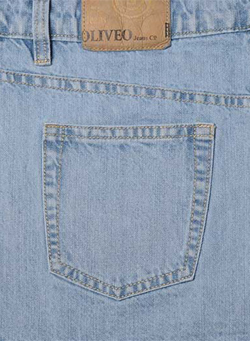 Machine Gun Denim Jeans - Light Blue