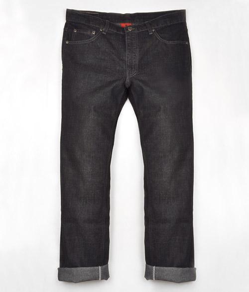 Mechanic Black Hard Wash Jeans  - Look # 310