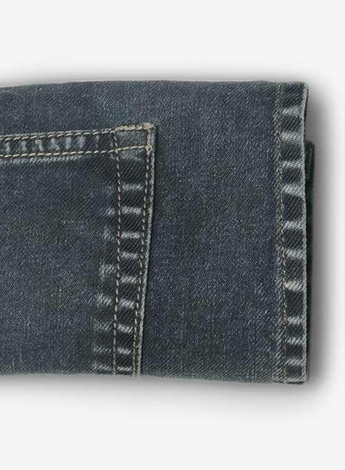 Melange Luxurious Deep Dark Blue Jeans - Blast Wash