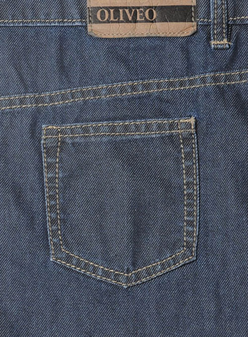 Melange Luxurious Blue Jeans - Light Blue Wash