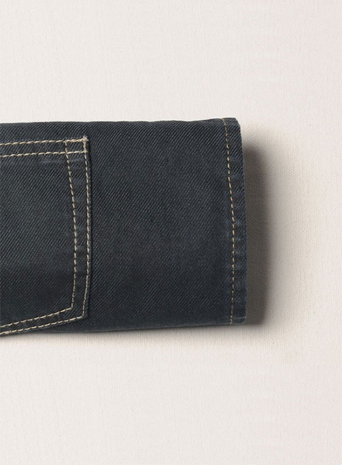 Melange Luxurious Deep Dark Blue Jeans - Hard Wash
