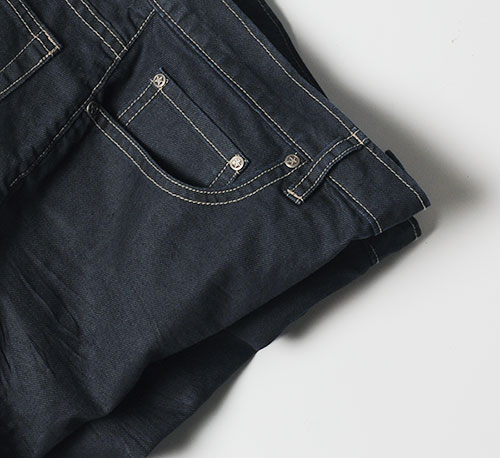 Melange - Luxurious Deep Dark Blue Jeans