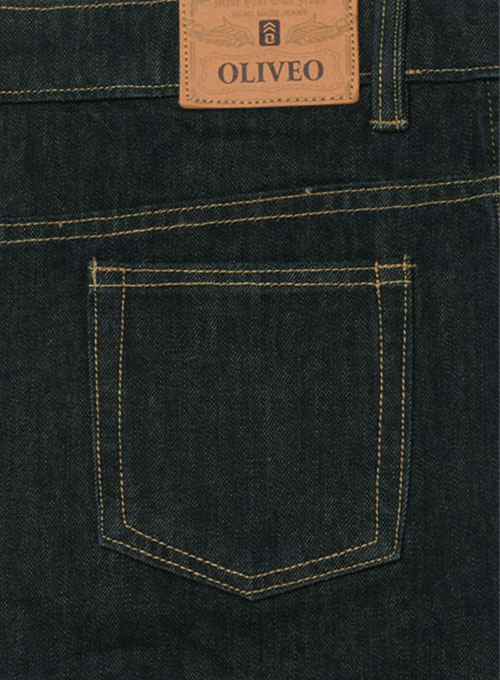 Mud Blue Ring Denim Jeans - 11oz