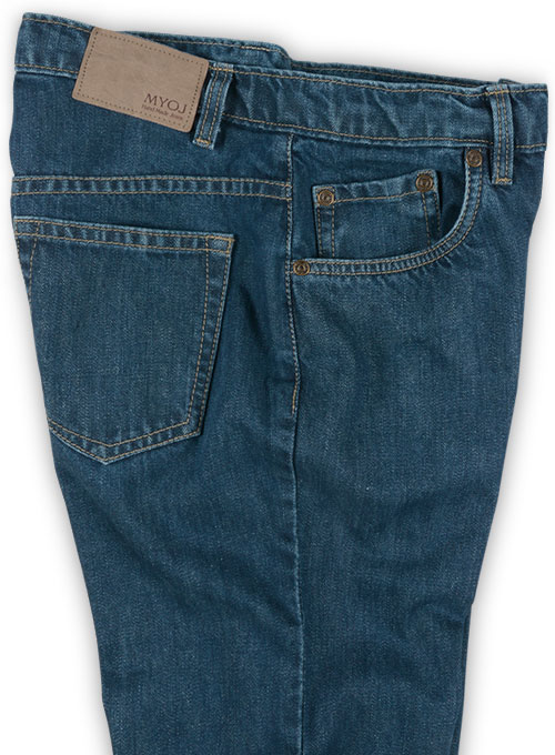 Mud Blue Denim Jeans - Denim-X Wash