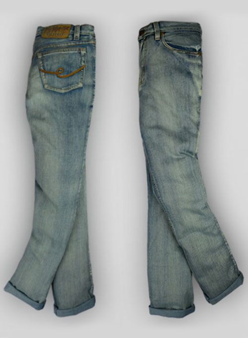 Mud Blue Vintage Wash Jeans  - Look # 128