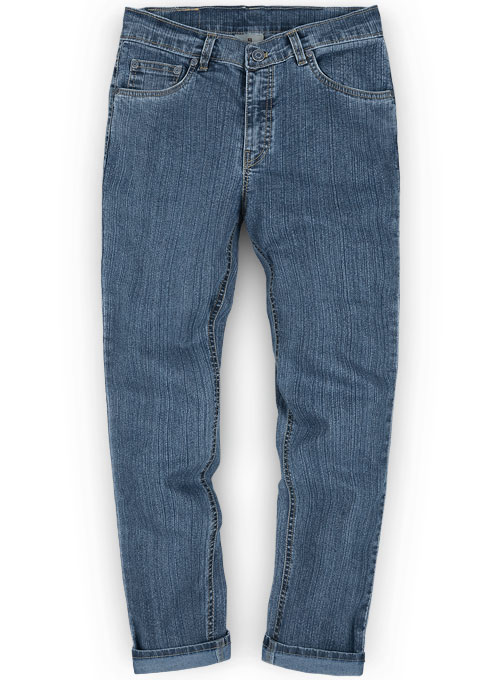Party Stunner Stretch Jeans - Light Blue