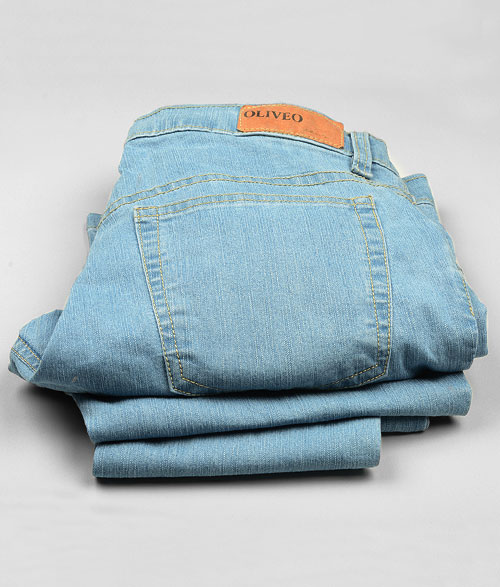POSH Stretch Denim Jeans - Light Blue