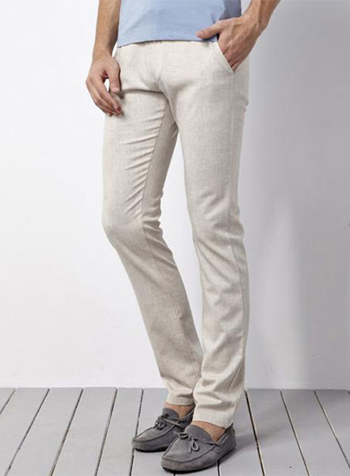 Pure Irish Linen Pants - 6 Colors