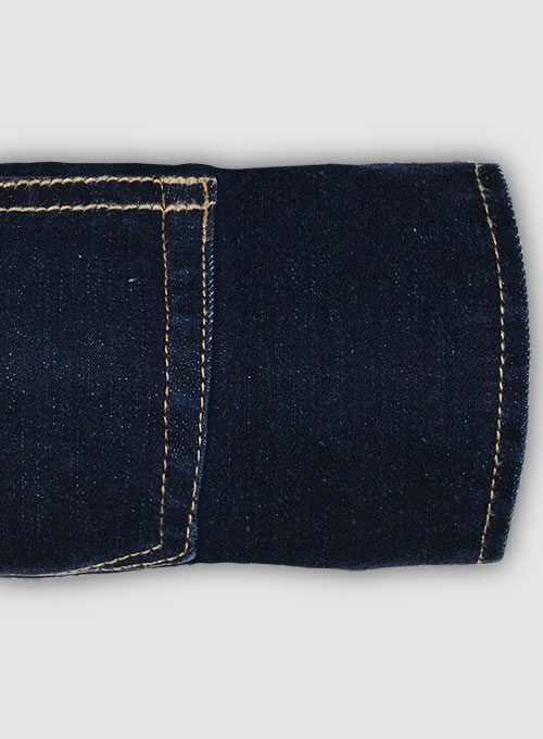 Pussy Cat Stretch Jeans - Hard Wash