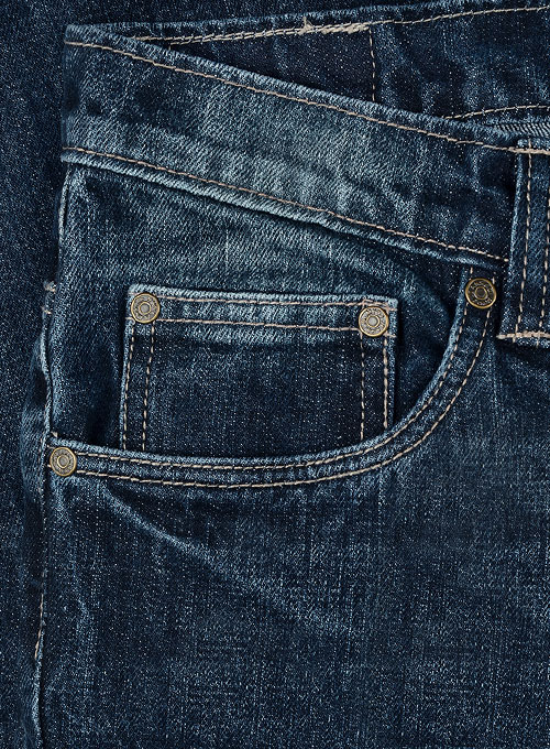 Rage Blue Jeans - Treated Hard Wash