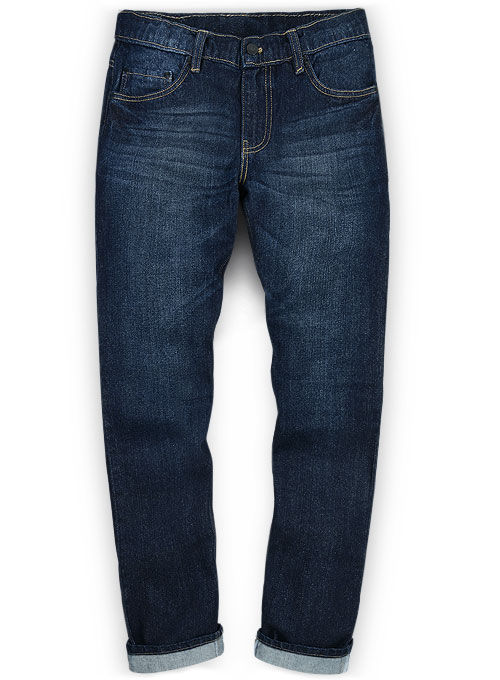 Ranch Blue Hard Wash Whisker Jeans