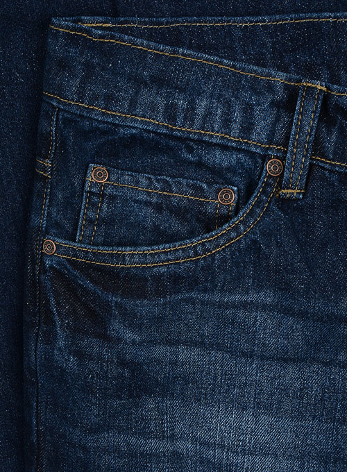 Ranch Blue Indigo Wash Whisker Jeans