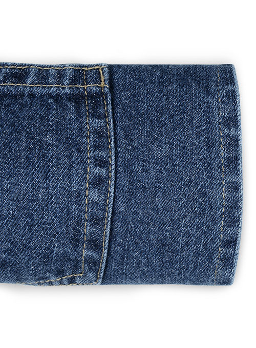 Ranch Blue Stone Wash Jeans - Click Image to Close