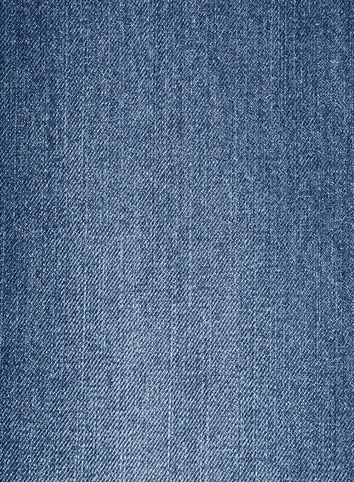 Ranch Blue Stone Wash Whisker Jeans - Click Image to Close