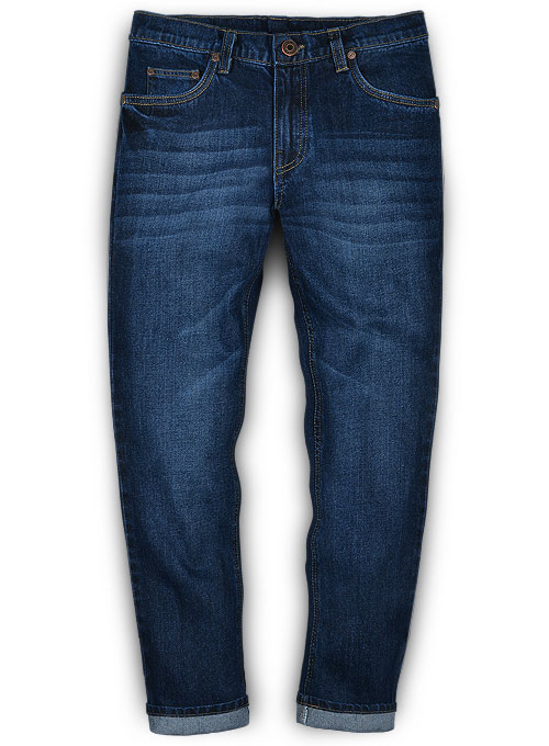 Ranch Blue Indigo Wash Whisker Jeans - Look #451