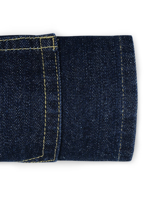 Ranger Blue Hard Wash Jeans - Click Image to Close