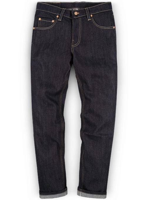 Raw Denim Jeans - Pure Unwashed - 12.5 0z