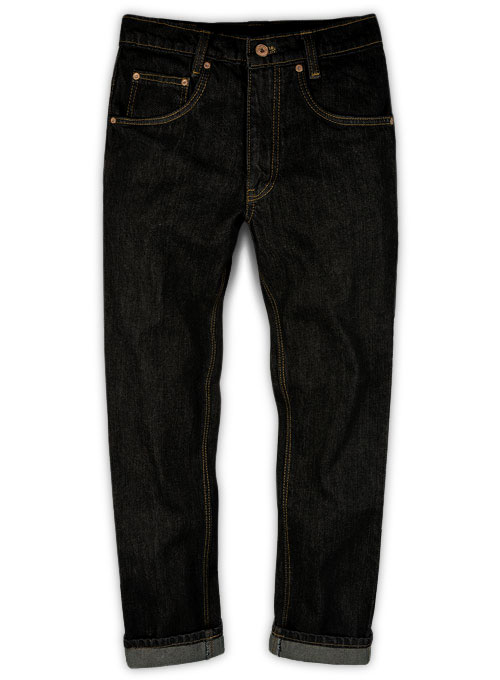 Rooster Black Jeans - Hard Wash