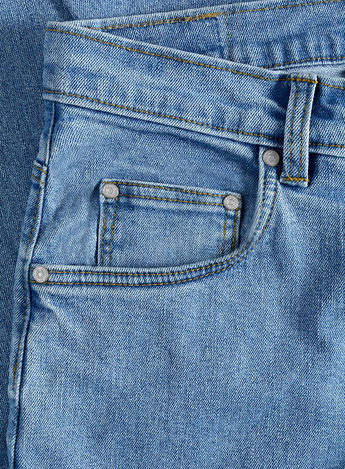 Rover Blue Stretch Jeans - Light Blue