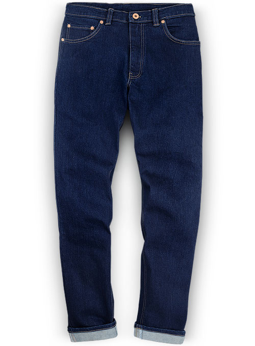 Rover Blue Stretch Jeans - Hard Wash