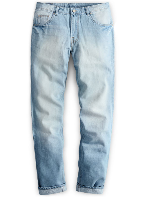 Rush Blue Stone Wash Whisker Jeans