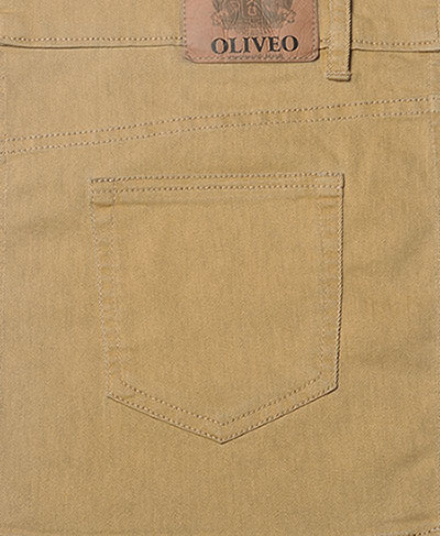 Russian Khaki Stretch Jeans