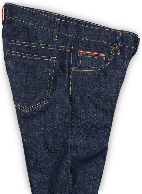 Selvedge Denim Jeans - Raw Unwashed