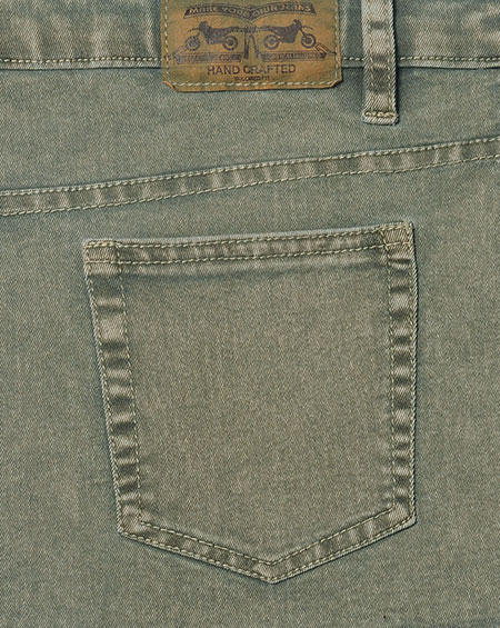 Sigma Olive Stretch Jeans - Blast Wash