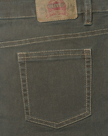 Sigma Olive Stretch Jeans