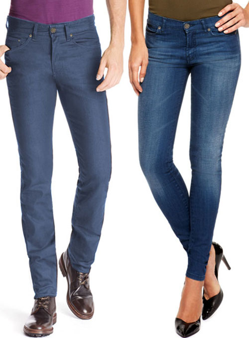 Skinny Jeans - Stretch Denim Stretch Denim Skinny Jeans