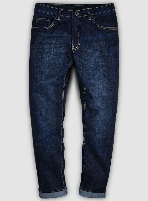 Slight Stretch Hard Wash Whisker Jeans