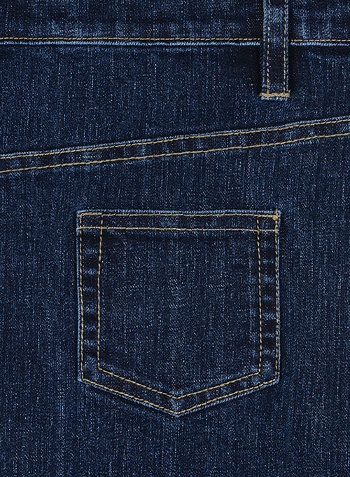 Slight Stretch Denim-X Wash Jeans